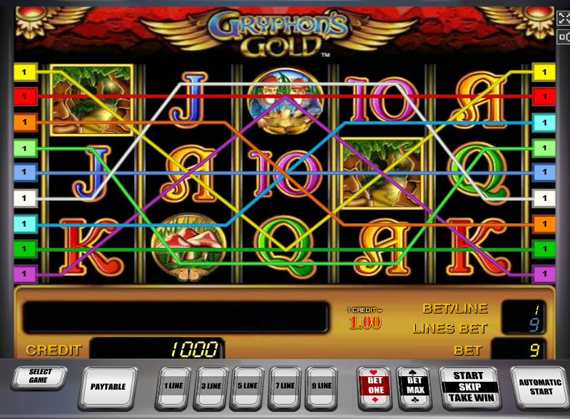 Gryphon's Gold MCPcom Novomatic