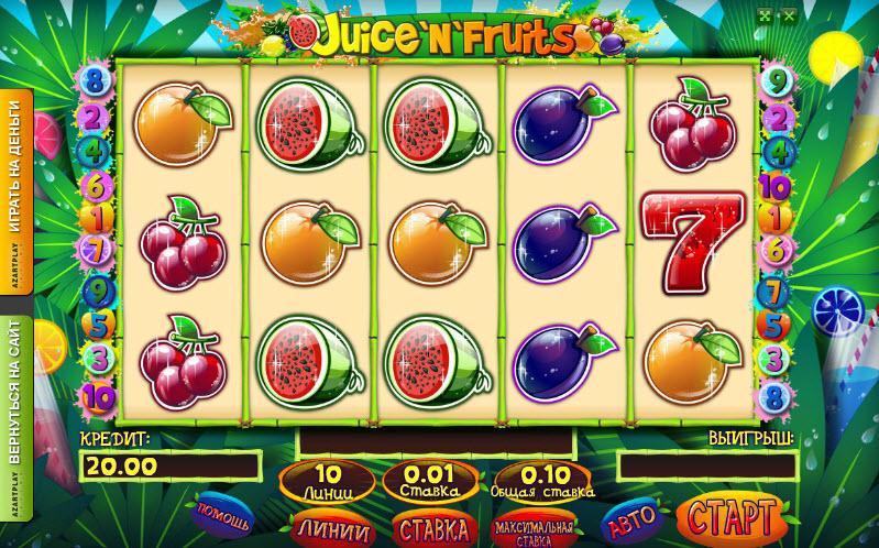 Juicy Fruit HD MCPcom Novomatic