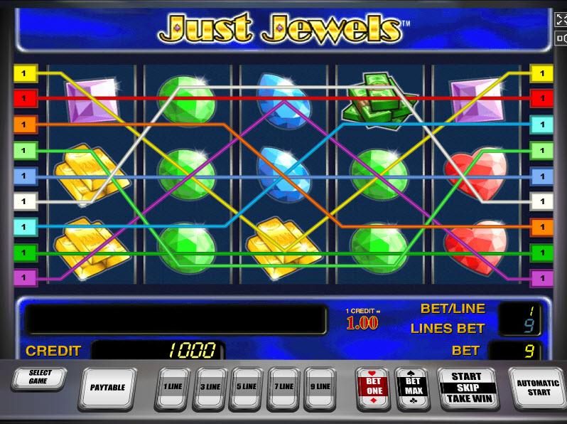 Just Jewels MCPcom Novomatic