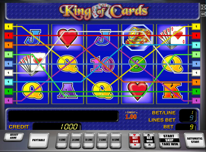 King of Cards MCPcom Novomatic