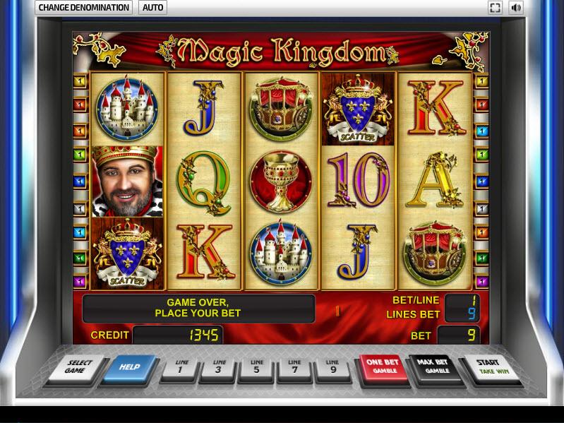 Magic Kingdom MCPcom NovomaticMagic Kingdom MCPcom Novomatic
