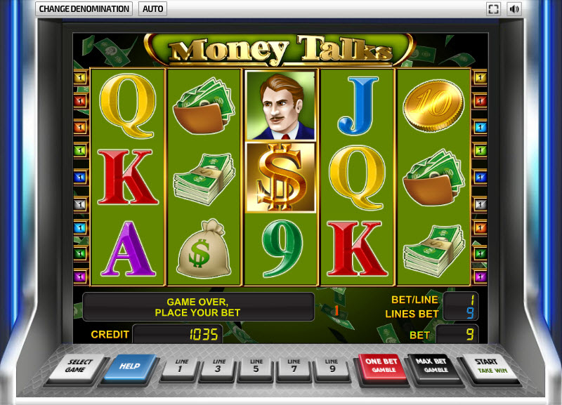Money Talks MCPcom Novomatic