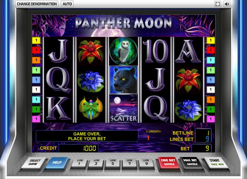 Panther Moon MCPcom Novomatic