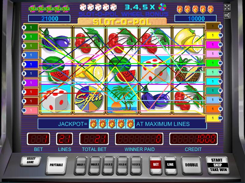 Slot-O-Pol Deluxe MCPcom MegaJack