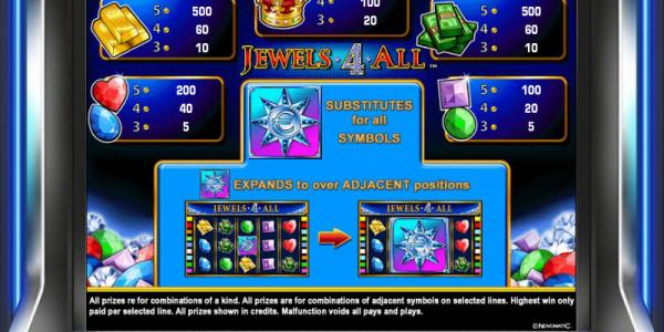 Jewels 4 All MCPcom Novomatic pay