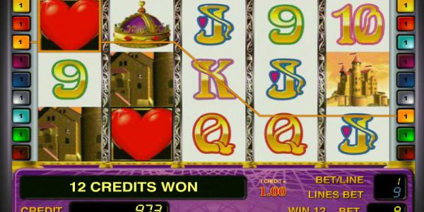Queen of Hearts MCPcom Novomatic 4