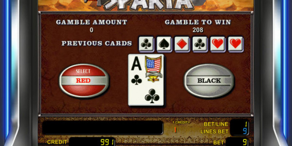 Sparta MCPcom Novomatic gamble2