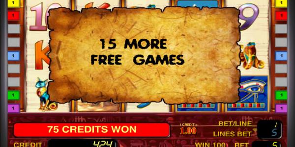 Pharaon's Gold III MCPcom Novomatic free games2