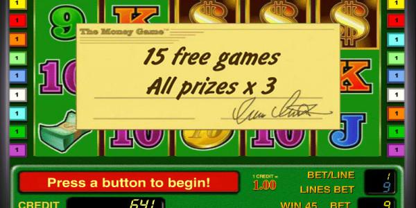The Money Game MCPcom Novomatic free games