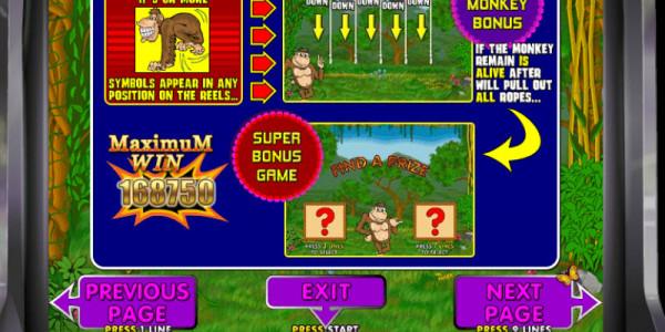 Crazy Monkey MCPcom Igrosoft pay4