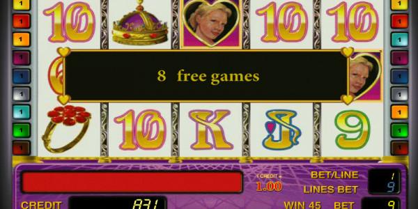Queen of Hearts MCPcom Novomatic free games