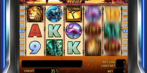 Safari Heat MCPcom Novomatic free games2