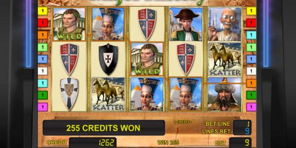 Major History MCPcom Novomatic gamble5