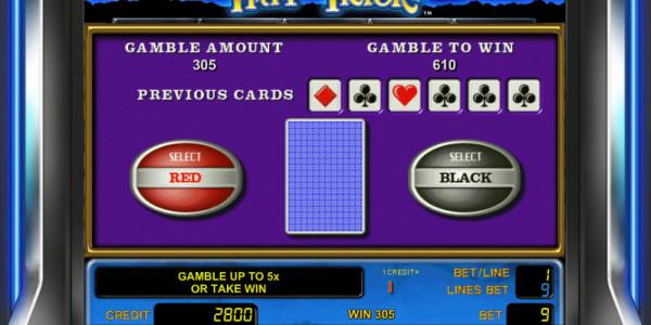 Hat Trick MCPcom Novomatic gamble