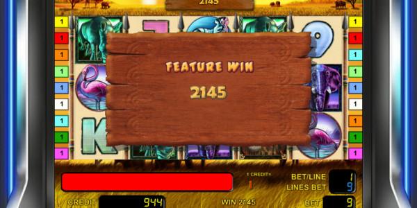 Safari Heat MCPcom Novomatic free games4