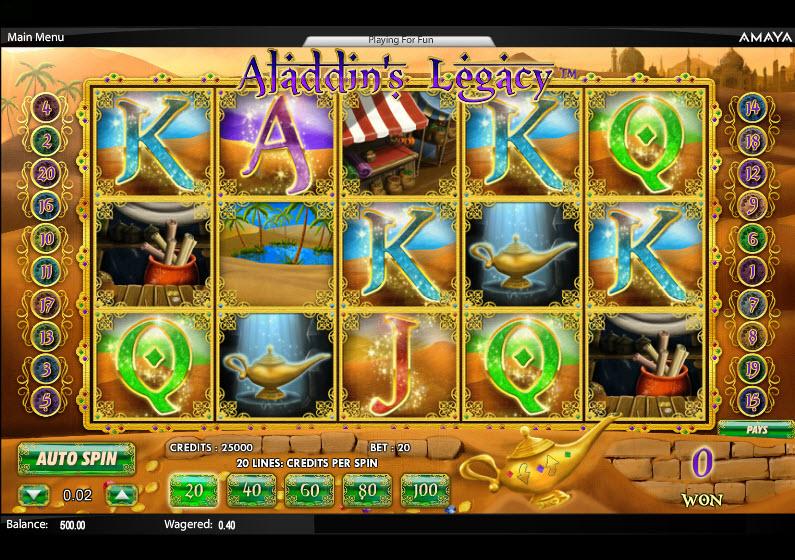Aladdin's Legacy MCPcom Amaya (Chartwell)