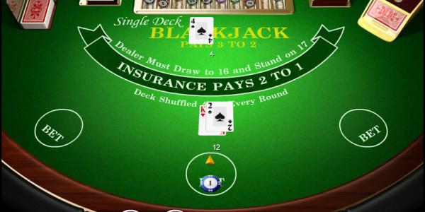 Single Deck Blackjack MCPcom Amaya (Chartwell)2