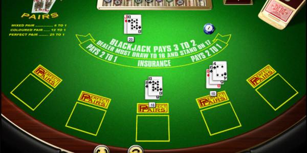 Perfect Pairs Blackjack MCPcom Amaya (Chartwell)3