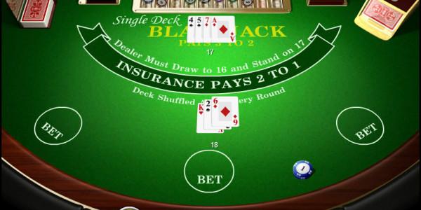 Single Deck Blackjack MCPcom Amaya (Chartwell)3