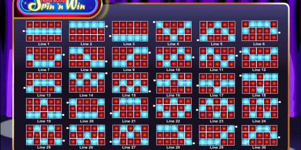 Triple Bonus Spin 'N Win MCPcom Amaya (Chartwell) pay2