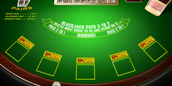 Perfect Pairs Blackjack MCPcom Amaya (Chartwell)