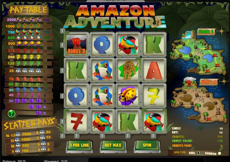 Amazon Adventure MCPcom Amaya (Chartwell)