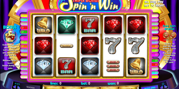 Triple Bonus Spin 'N Win MCPcom Amaya (Chartwell)