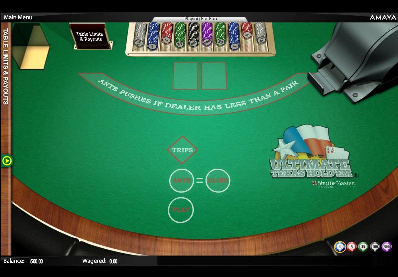 Ultimate Texas Hold'em MCPcom Amaya (Chartwell)