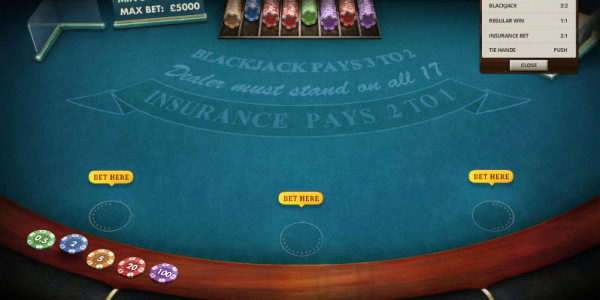 Blackjack  MCPcom Cayetano Gaming2