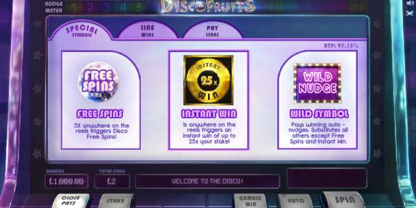 Disco Fruit MCPcom Cayetano Gaming pay