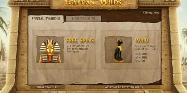 Egyptian Wilds MCPcom Cayetano Gaming pay