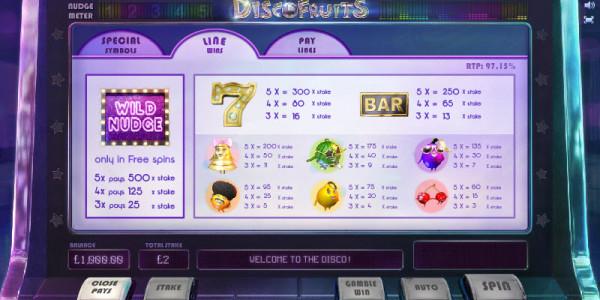 Disco Fruit MCPcom Cayetano Gaming pay2