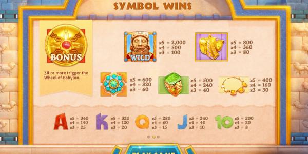Babylon Treasury MCPcom Cayetano Gaming pay2