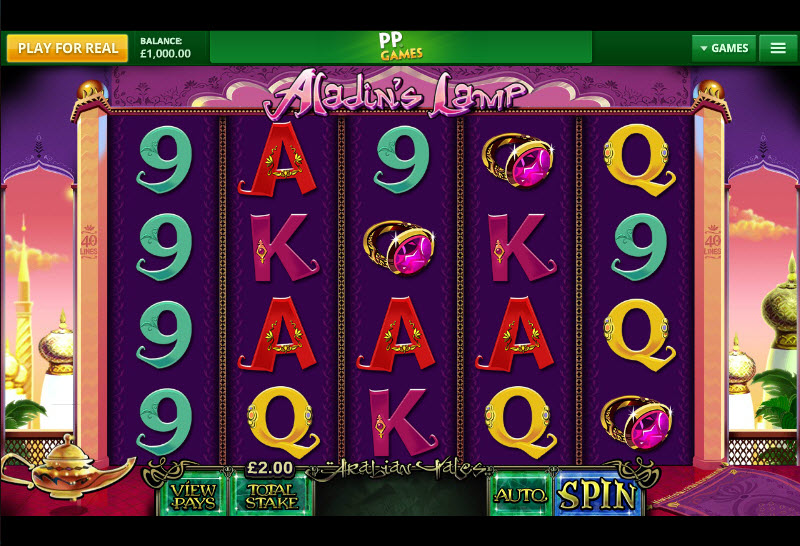 Aladin's Lamp MCPcom Cayetano Gaming