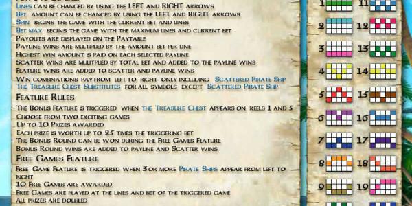 Buccaneer's Bounty MCPcom Cryptologic pay2