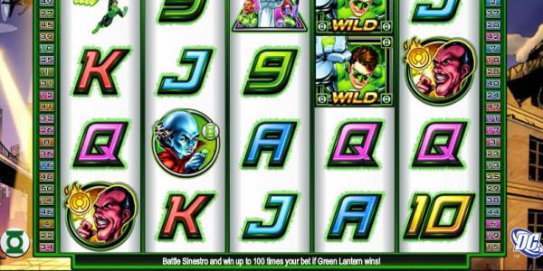 Green Lantern MCPcom Cryptologic