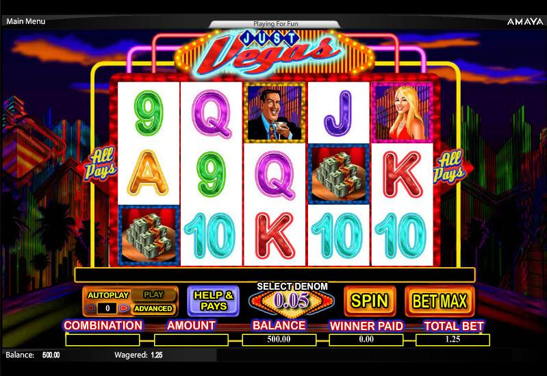 Just Vegas MCPcom Cryptologic