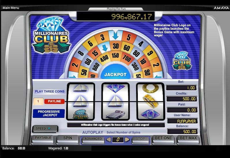 Millionaire's Club MCPcom Cryptologic