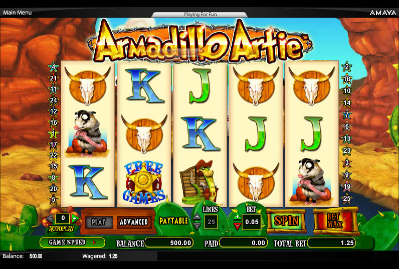 Armadillo Artie MCPcom Cryptologic