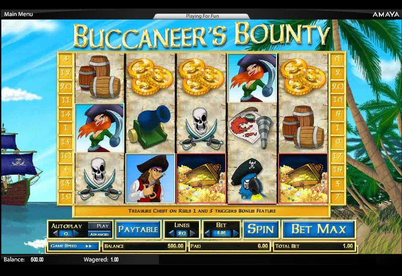 Buccaneer's Bounty MCPcom Cryptologic