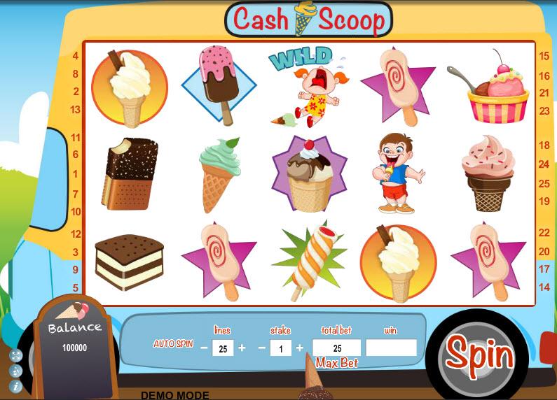 Cash Scoop MCPcom Daub Games