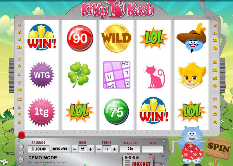 Kitty Kash MCPcom Daub Games