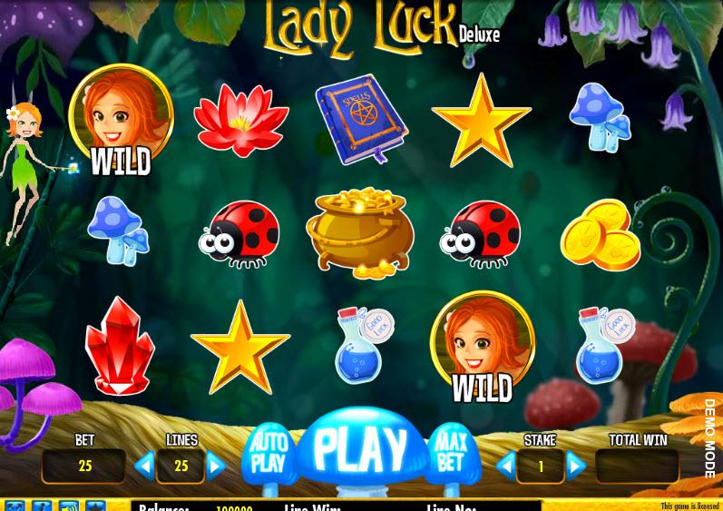 Lady Luck Deluxe MCPcom Daub Games