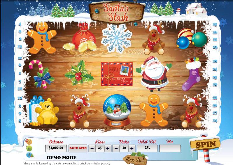 Santa's Stash MCPcom Daub Games