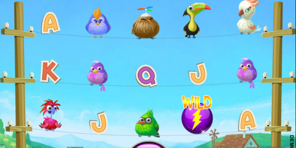 Wired Birds MCPcom Daub Games