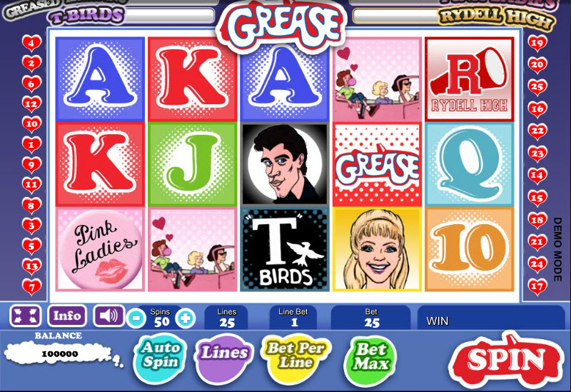 Grease MCPcom Daub Games