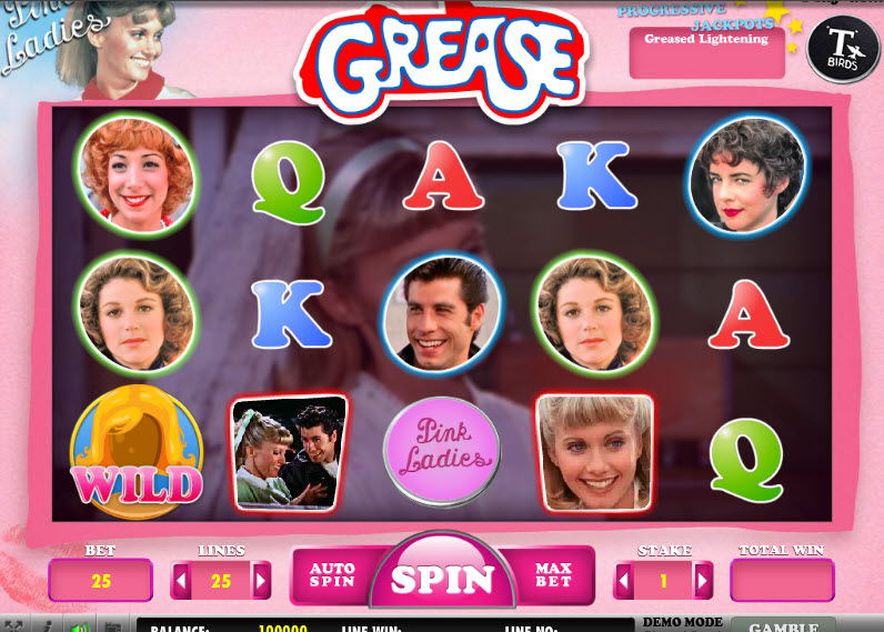 Grease – Pink Ladies & T-Birds MCPcom Daub Games