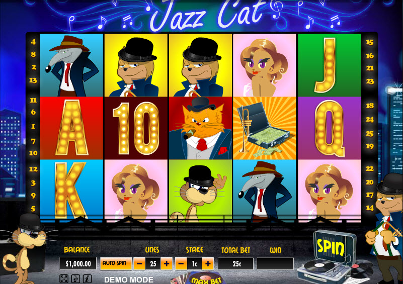 Jazz Cat MCPcom Daub Games