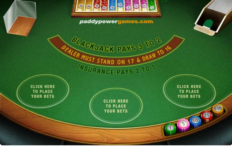 3 Hand Blackjack MCPcom Electracade