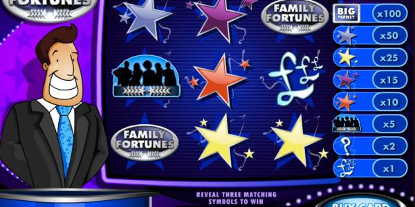 Family Fortunes Scratch MCPcom Electracade3